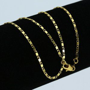 NWOT 18K GP Gold Necklace Chain